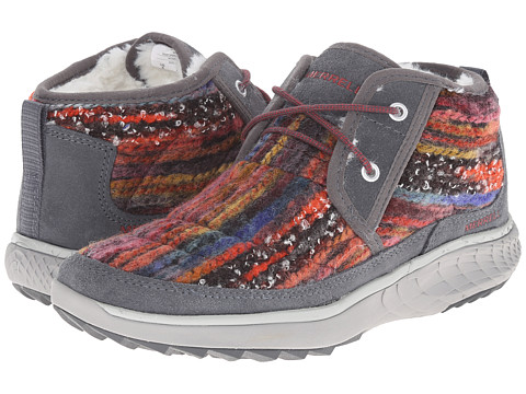 Merrell - Pechora Mid (Grey/Multi) Women's Lace-up Boots
