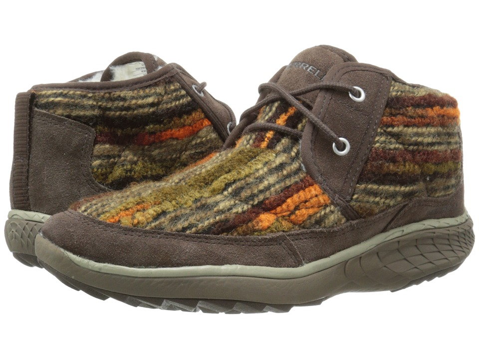Merrell - Pechora Mid (Espresso) Women's Lace-up Boots