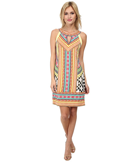 Hale Bob - Native Tones Signature Dress (Tangerine) Women's Dress