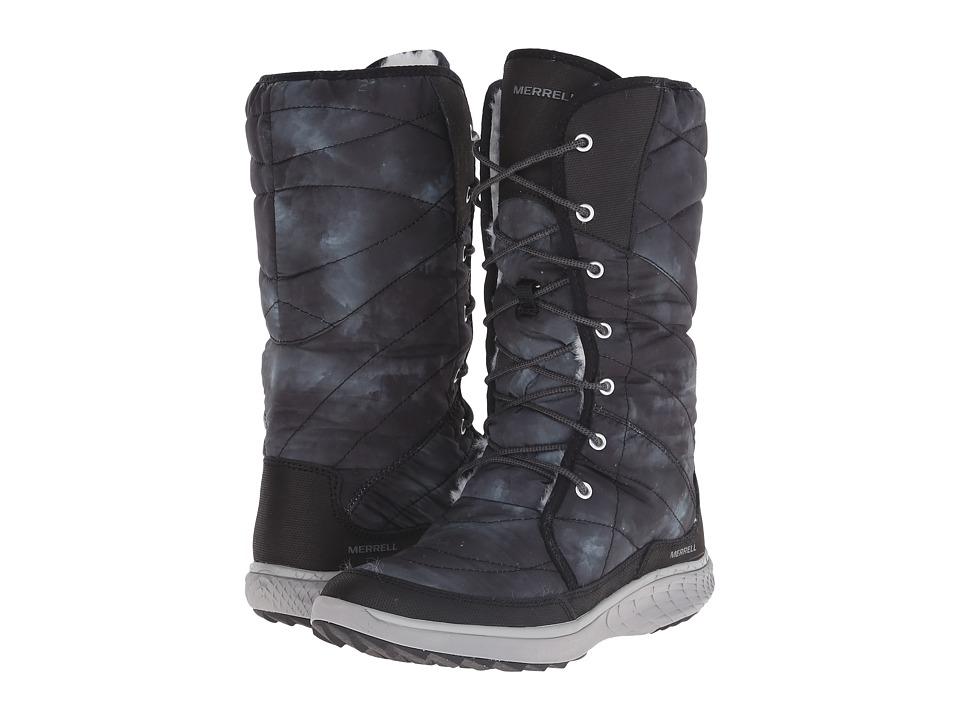 Merrell - Pechora Peak (Turbulence) Women's Lace-up Boots