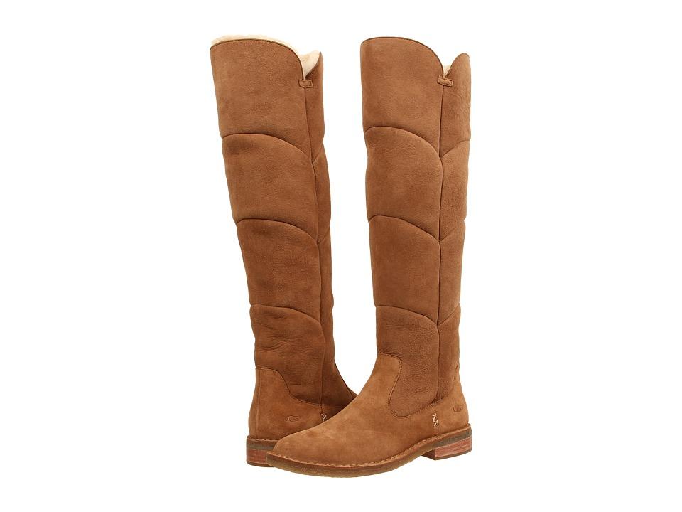 UGG - Samantha (Chestnut Suede) Women's Boots