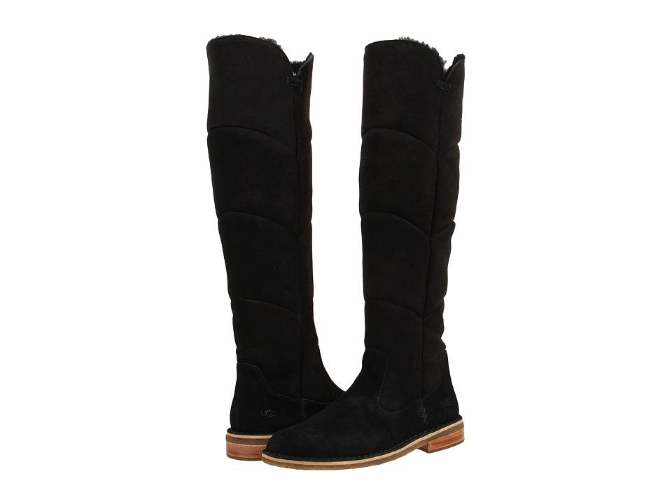 UGG - Samantha (Black Suede) Women's Boots