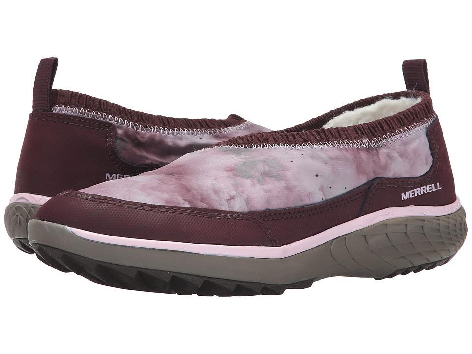 Merrell - Pechora Wrap (Burgundy) Women's Slip on Shoes