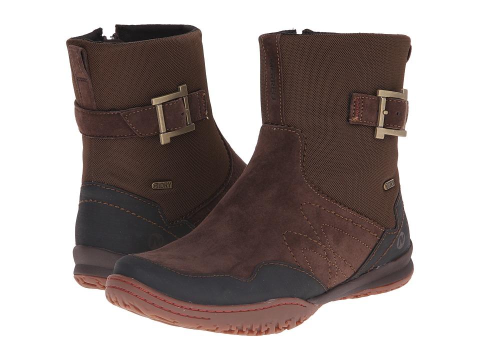 Merrell - Albany Sky Waterproof (Espresso) Women's Zip Boots