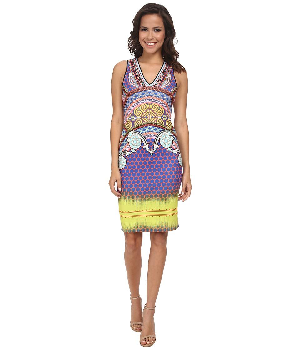3635a9f5c0 820975196696. Hale Bob - Spring Remix V-Neck Neoprene Dress ...