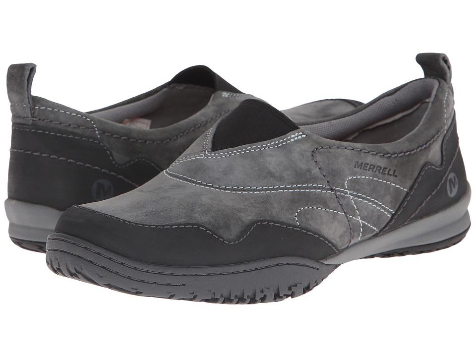 Merrell - Albany Moc (Granite) Women's Slip on Shoes