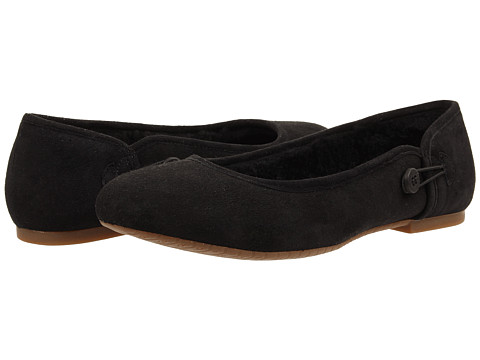 UGG - Eitan (Black Twinface) Women's Flat Shoes