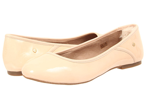 UGG - Antora (Nude Patent) Women's Flat Shoes