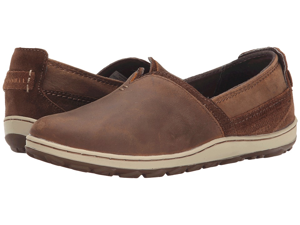 Merrell - Ashland (Brown Sugar) Women's Slip on Shoes