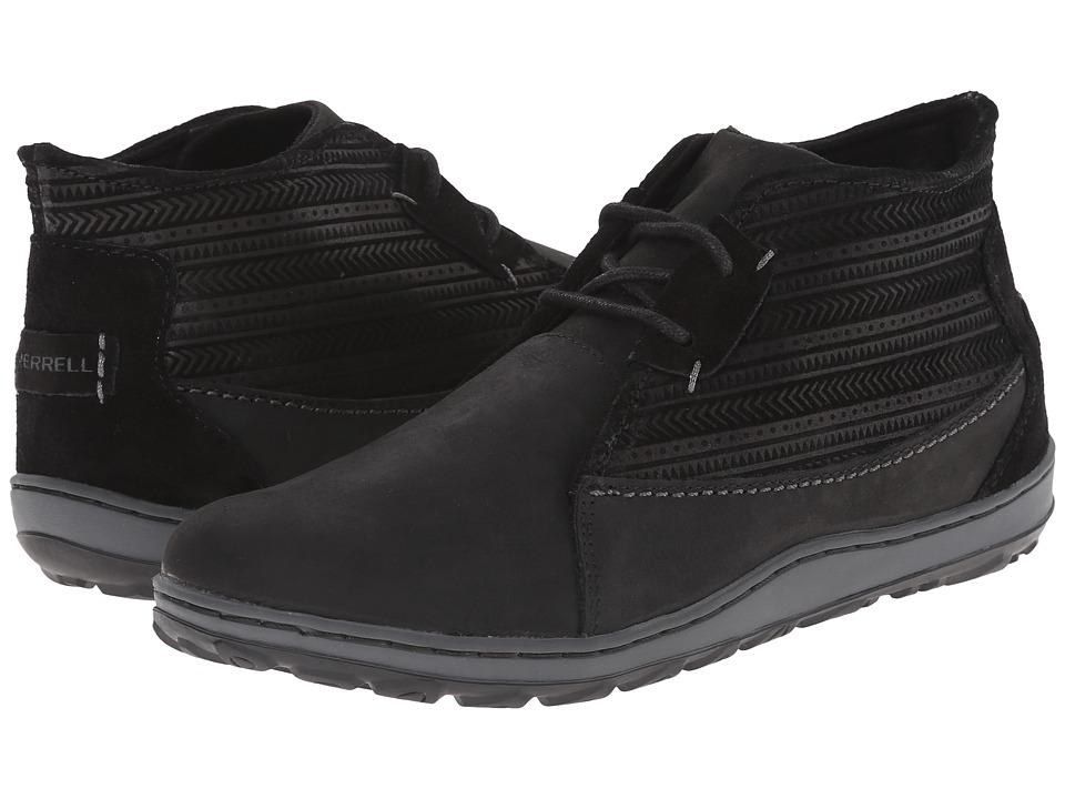 Merrell - Ashland Chukka (Black) Women's Lace up casual Shoes
