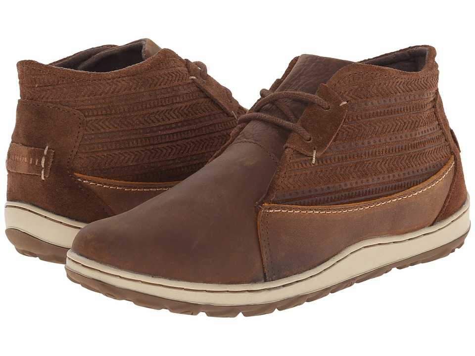 Merrell - Ashland Chukka (Brown Sugar) Women's Lace up casual Shoes