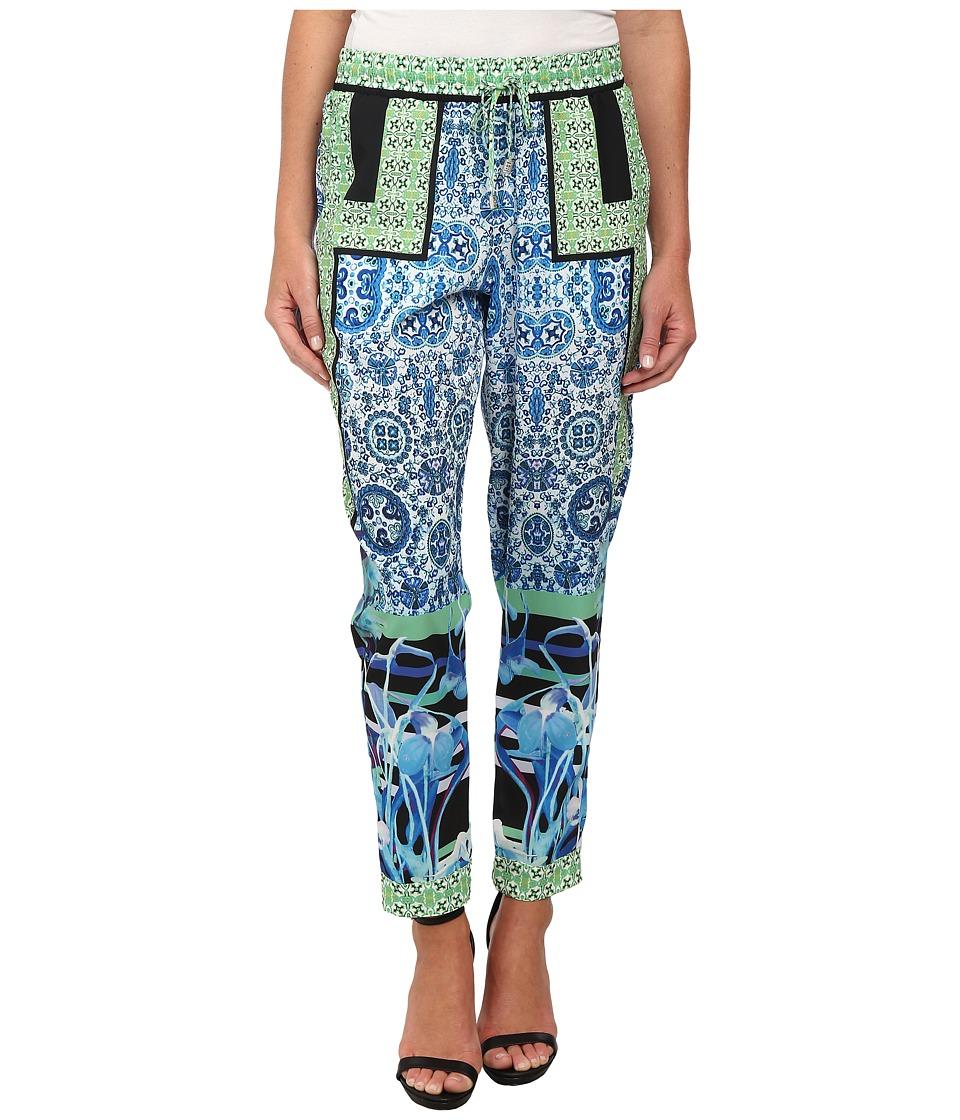 Hale Bob - South Beach Blooms Pants (Lime) Women's Casual Pants