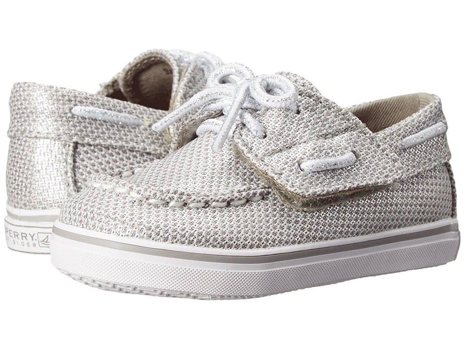Sperry Kids - Bahama Crib Jr. (Infant/Toddler) (Silver) Girls Shoes