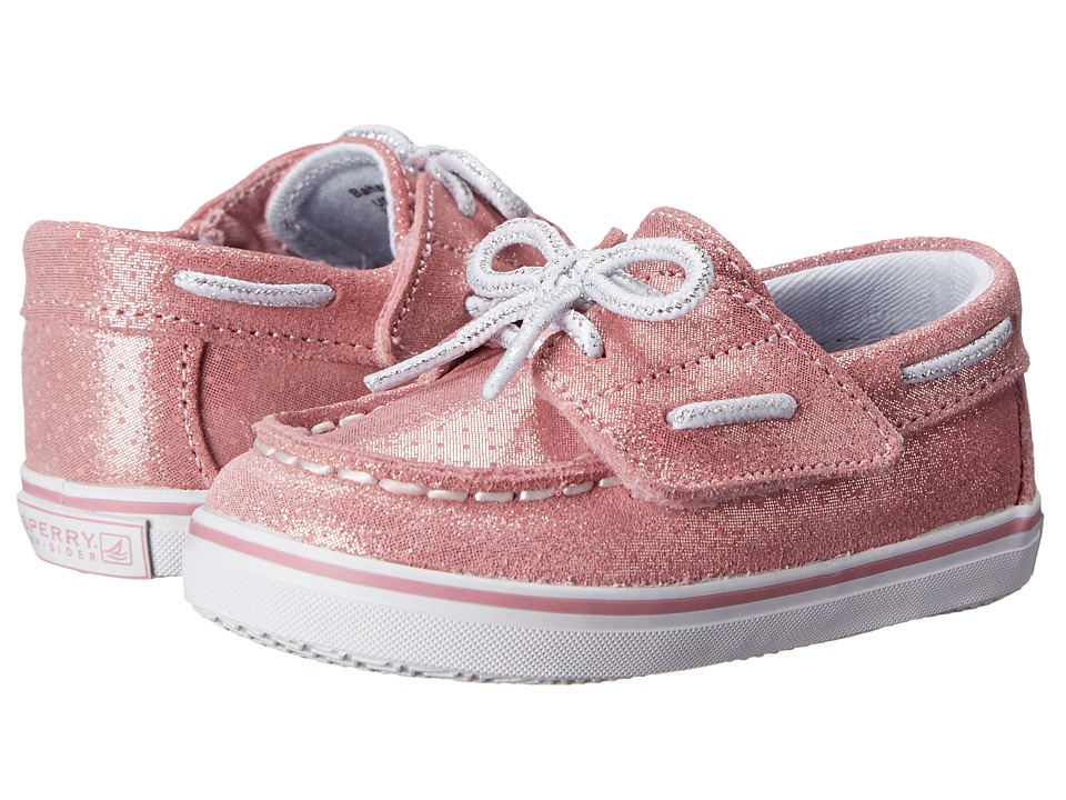 Sperry Top-Sider Kids - Bahama Crib Jr. (Infant/Toddler) (Pink Sparkle) Girls Shoes