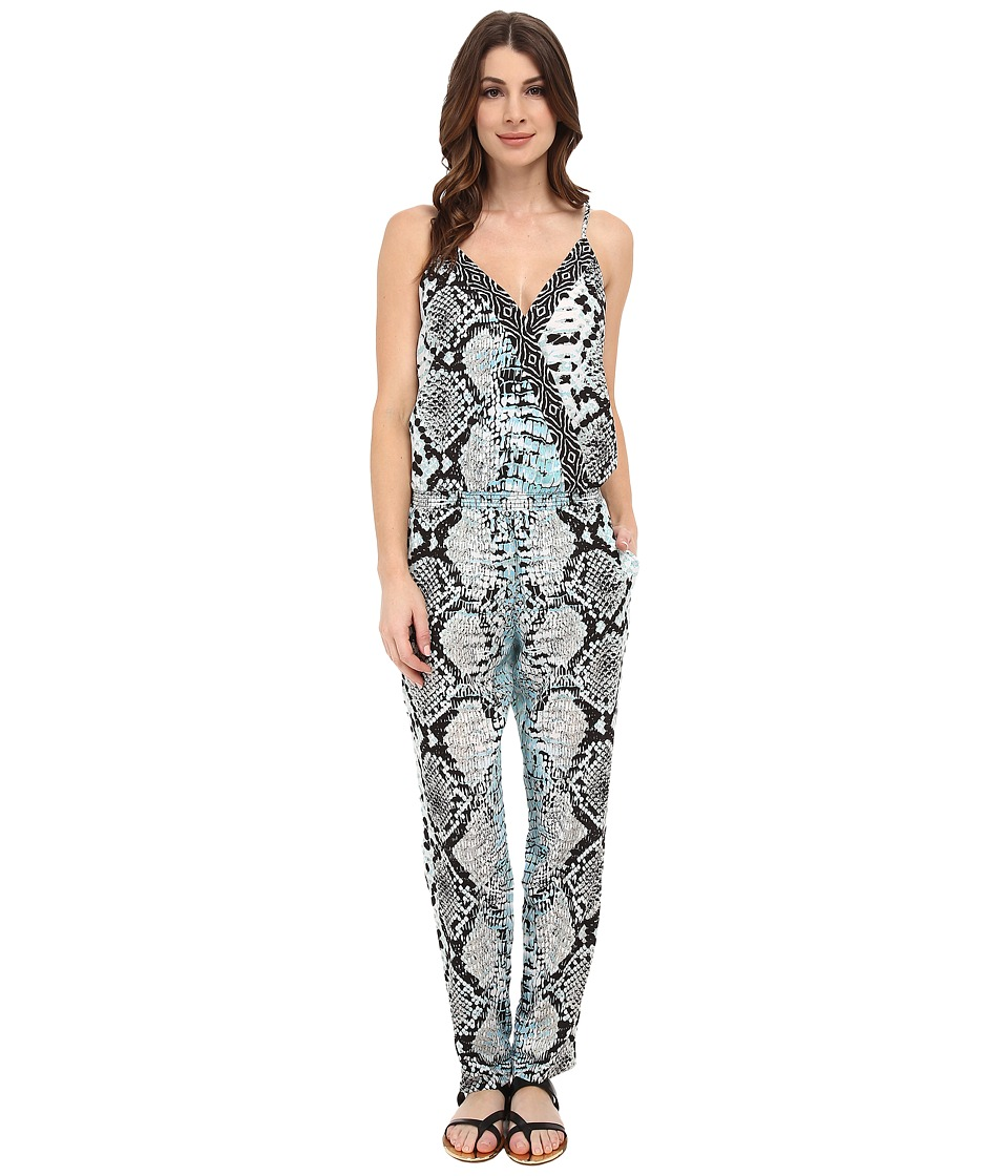 Hale Bob - Old Havana Heat Jumpsuit (Blue) Women