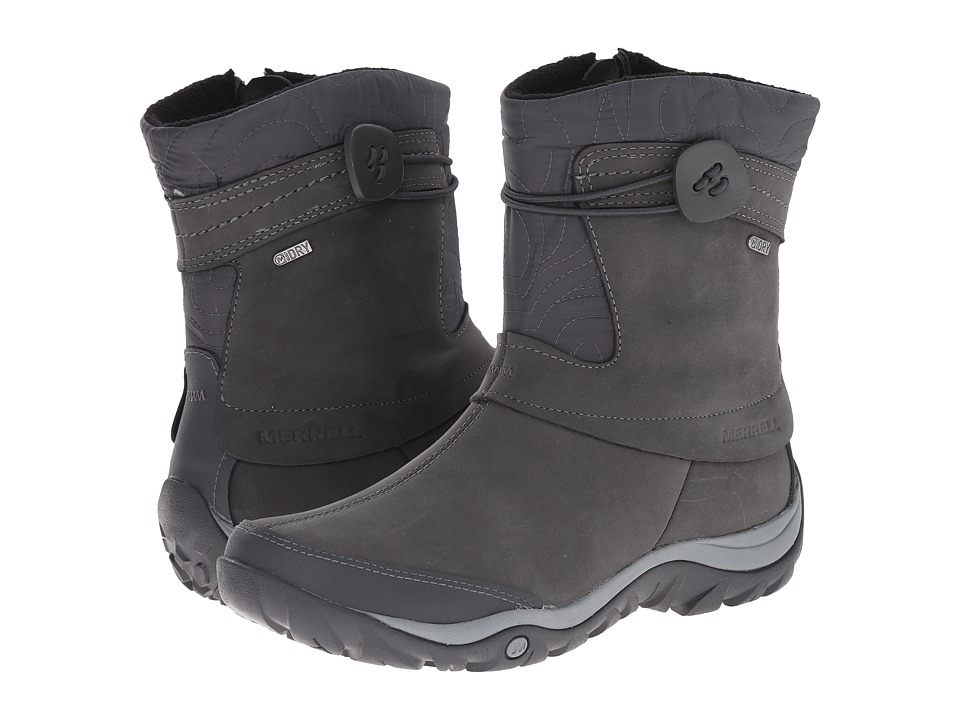 Merrell - Dewbrook Zip Waterproof (Grizzle Grey) Women