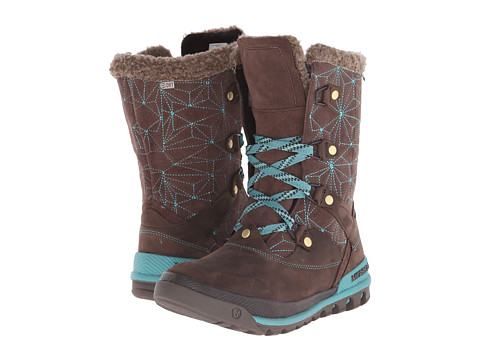 Merrell - Silversun Lace Waterproof (Bracken) Women's Waterproof Boots