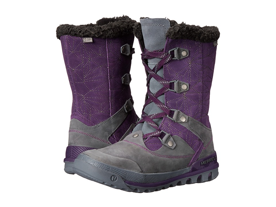 Merrell - Silversun Lace Waterproof (Wild Plum) Women