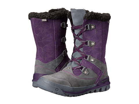 Merrell - Silversun Lace Waterproof (Wild Plum) Women's Waterproof Boots
