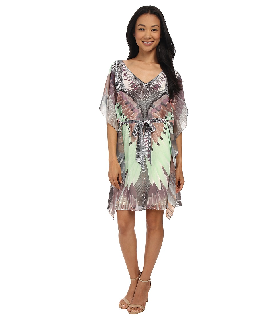 Hale Bob - Copa Cabana Dress (Taupe) Women's Dress