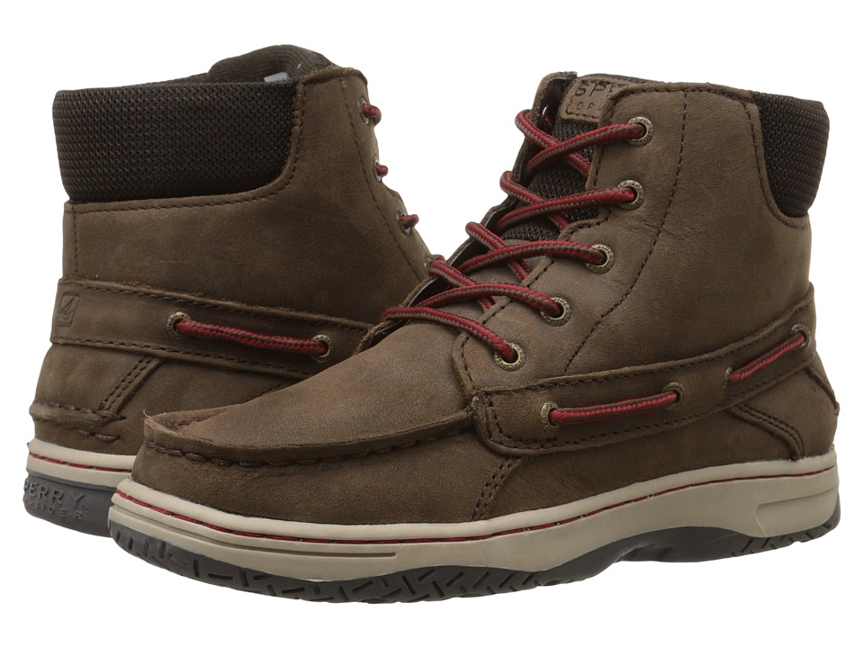 Sperry Top-Sider Kids - Billfish Boot (Little Kid/Big Kid) (Chocolate) Boys Shoes