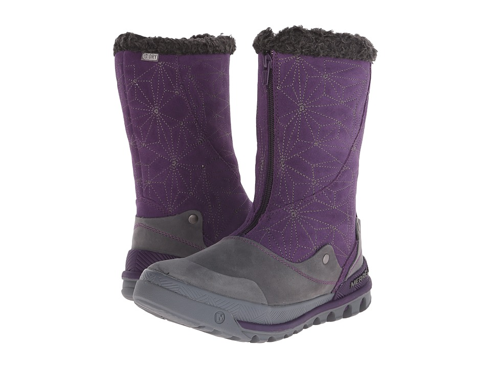 Merrell - Silversun Zip Waterproof (Wild Plum) Women