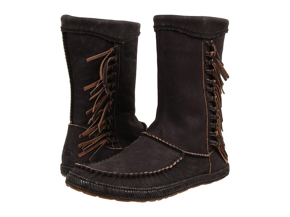 UGG Hyland (Black Leather) Women