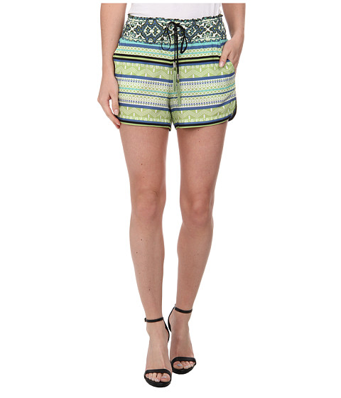 Hale Bob - Life On Star Island Shorts (Lime) Women's Shorts