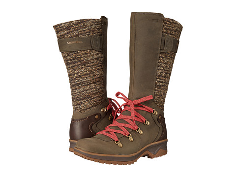 Merrell - Eventyr Peak Waterproof (Bungee Cord) Women's Lace-up Boots
