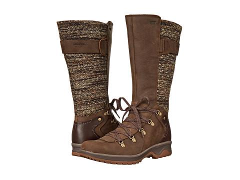 Merrell - Eventyr Peak Waterproof (Dark Earth) Women's Lace-up Boots