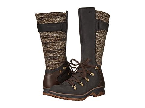 Merrell - Eventyr Peak Waterproof (Black) Women's Lace-up Boots