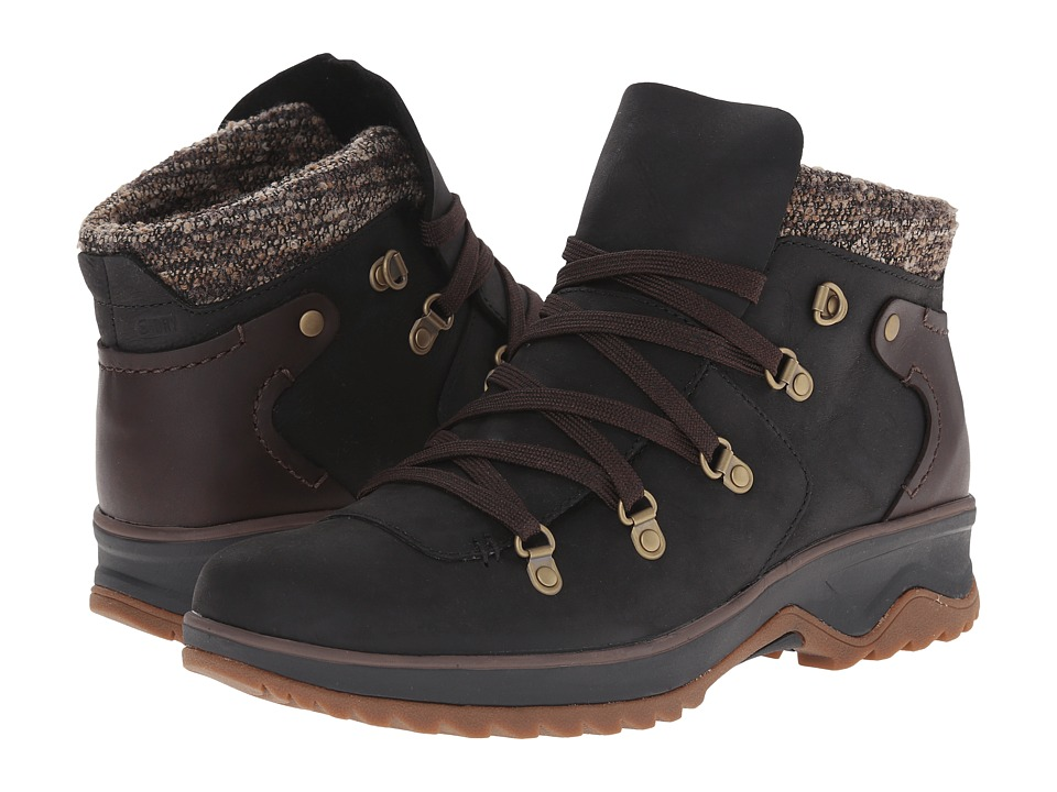 Merrell - Eventyr Bluff Waterproof (Black) Women's Lace-up Boots