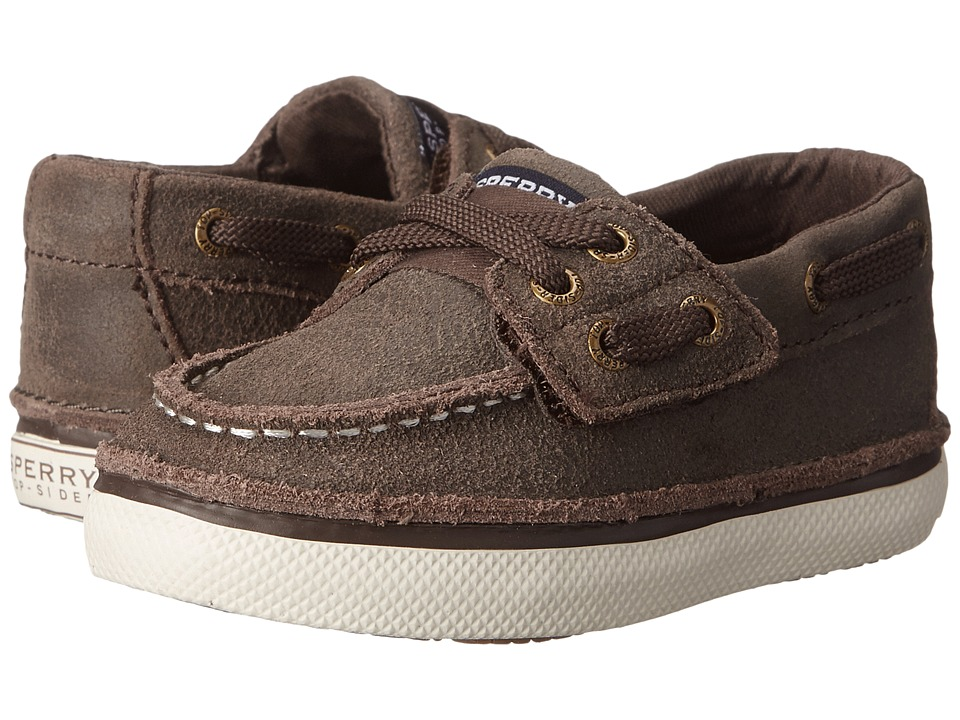 Sperry Kids - Cruz Jr. (Toddler/Little Kid) (Brown Leather) Boys Shoes