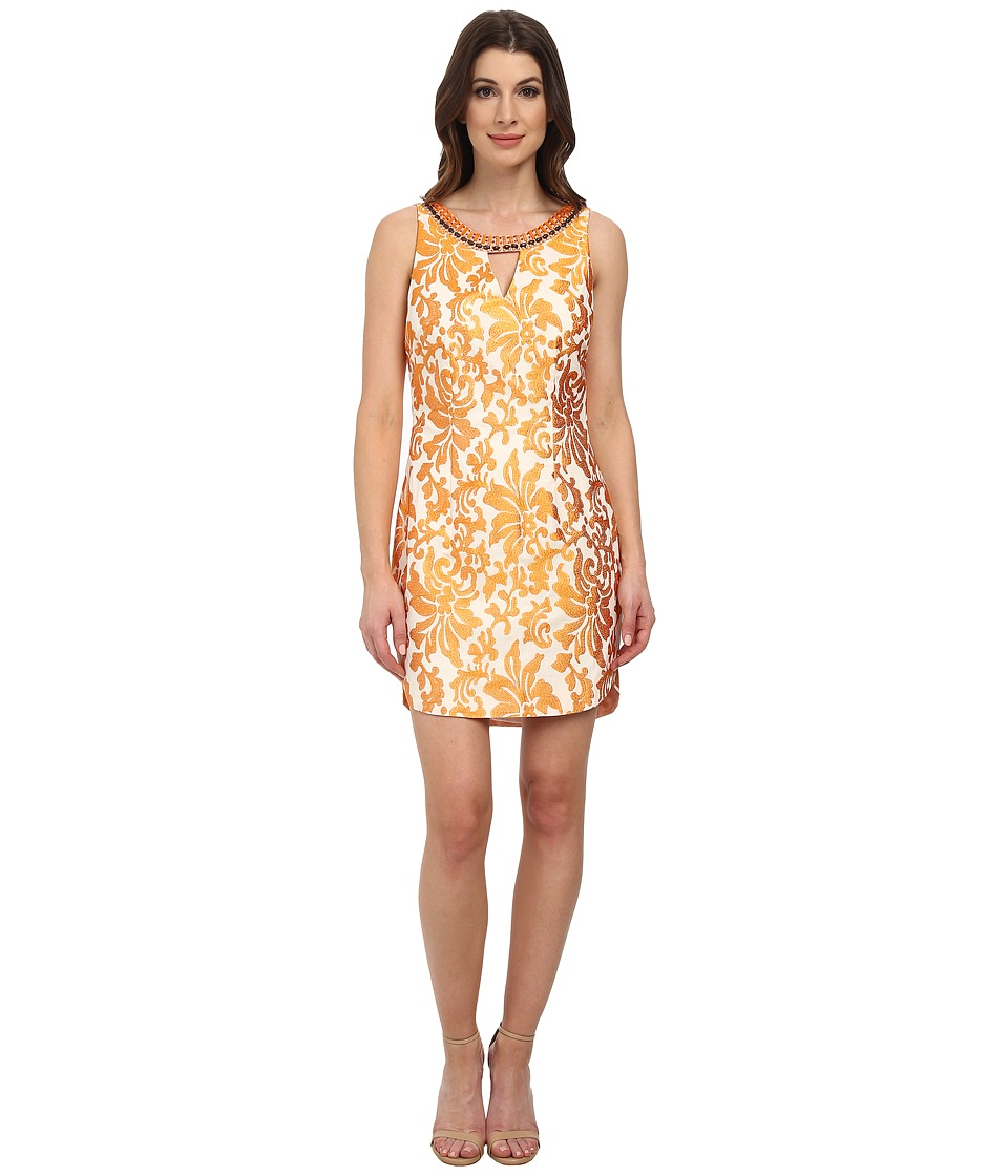 Hale Bob - Noveau Namaste Dress (Orange) Women's Dress