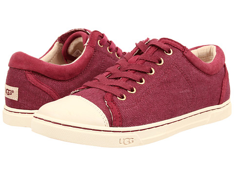 UGG - Taya Canvas (Red Violet Canvas) Women