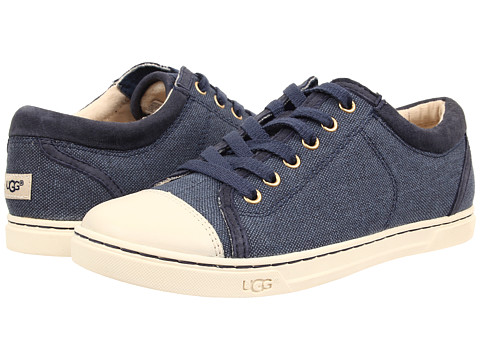UGG - Taya Canvas (Navy Canvas) Women's Lace up casual Shoes