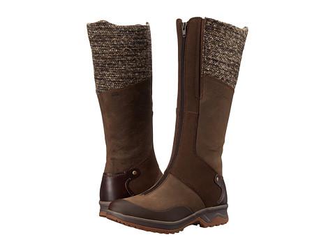 Merrell - Eventyr Cuff Waterproof (Dark Earth) Women's Zip Boots