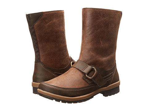 Merrell - Emery Buckle (Brown) Women's Zip Boots