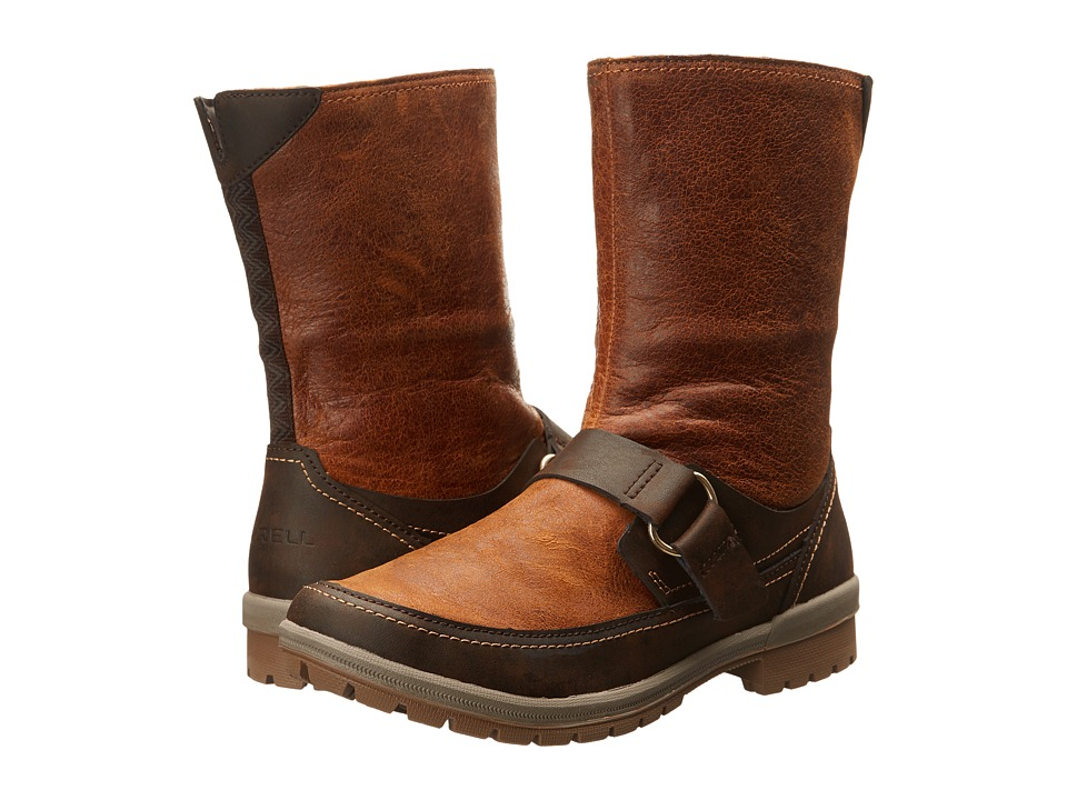 Merrell - Emery Buckle (Rust) Women's Zip Boots