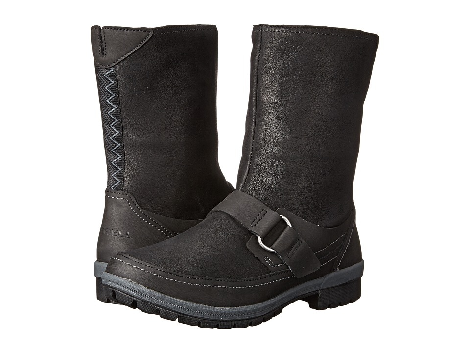 Merrell - Emery Buckle (Black) Women's Zip Boots