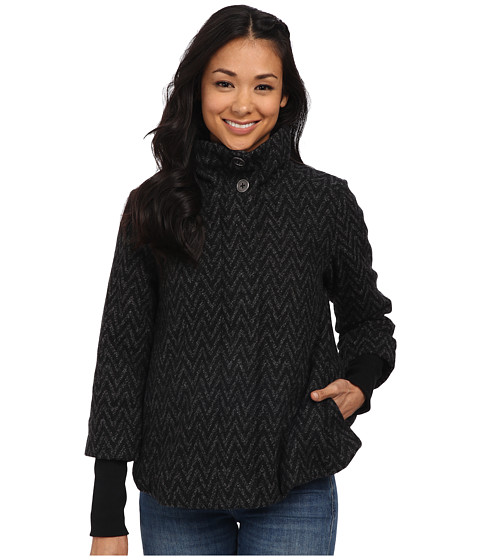 Prana - Lily Jacket (Black) Women's Coat