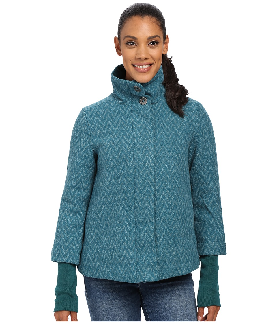 Prana - Lily Jacket (Deep Teal) Women's Coat