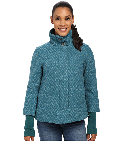 Prana - Lily Jacket (Deep Teal) Women