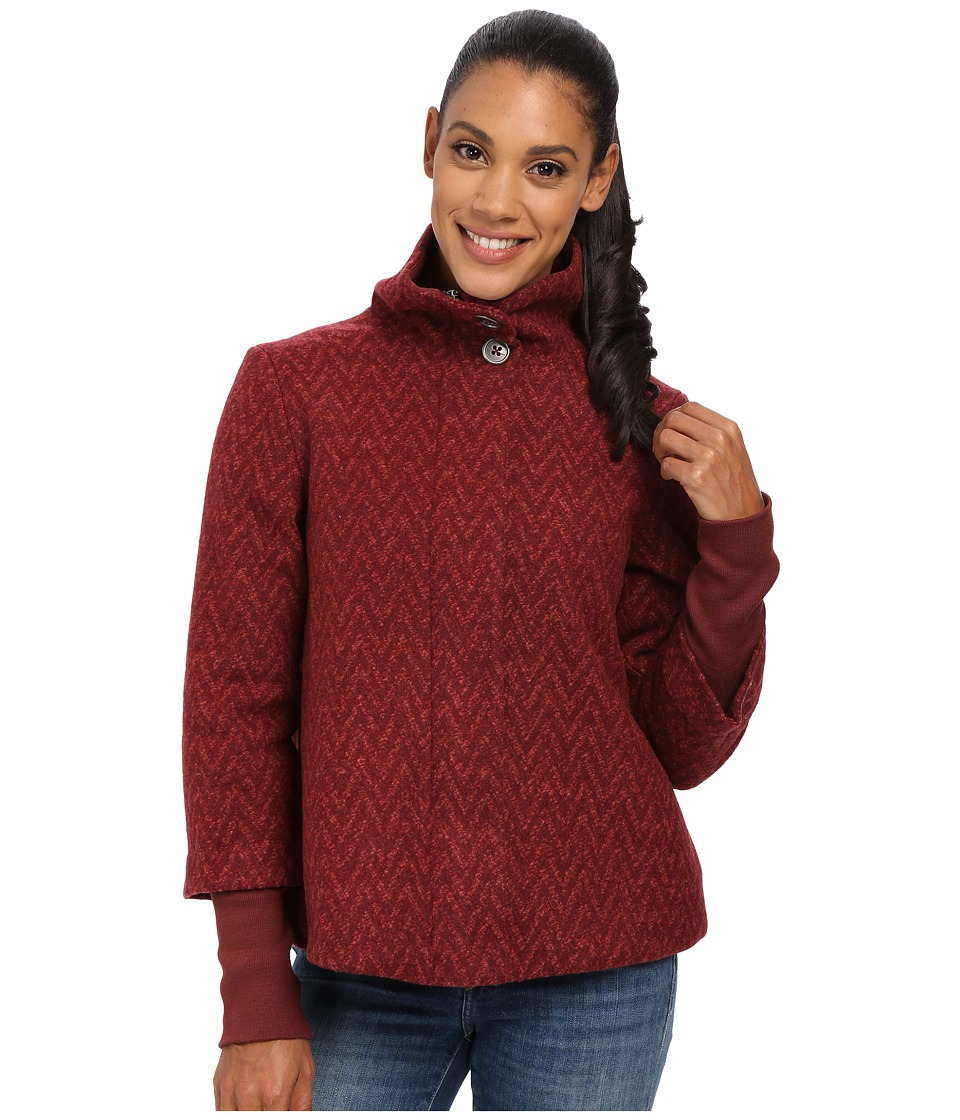 Prana - Lily Jacket (Raisin) Women's Coat