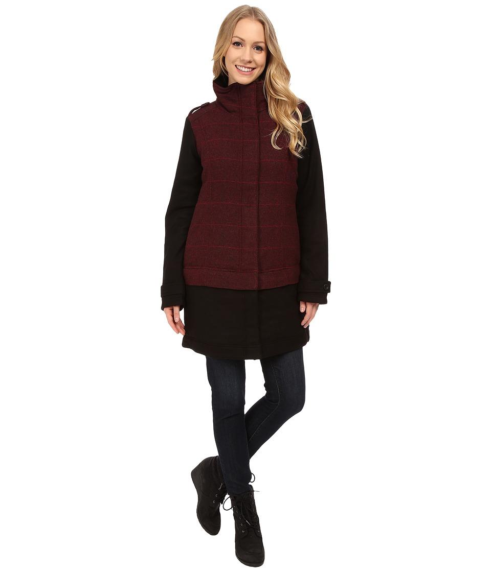 Prana - Caprise Jacket (Redberry) Women's Coat