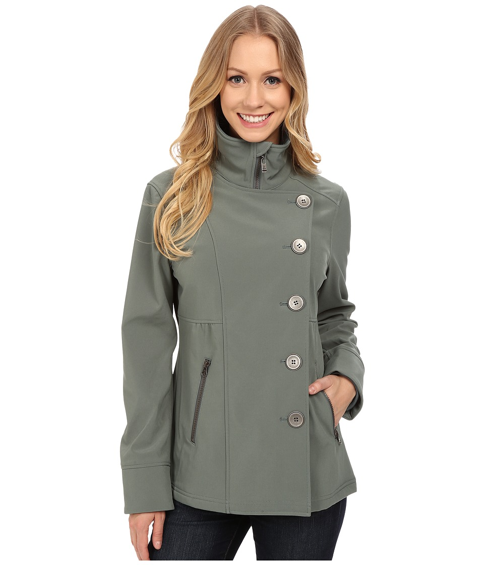 Prana - Martina Jacket (Green Smoke) Women's Coat