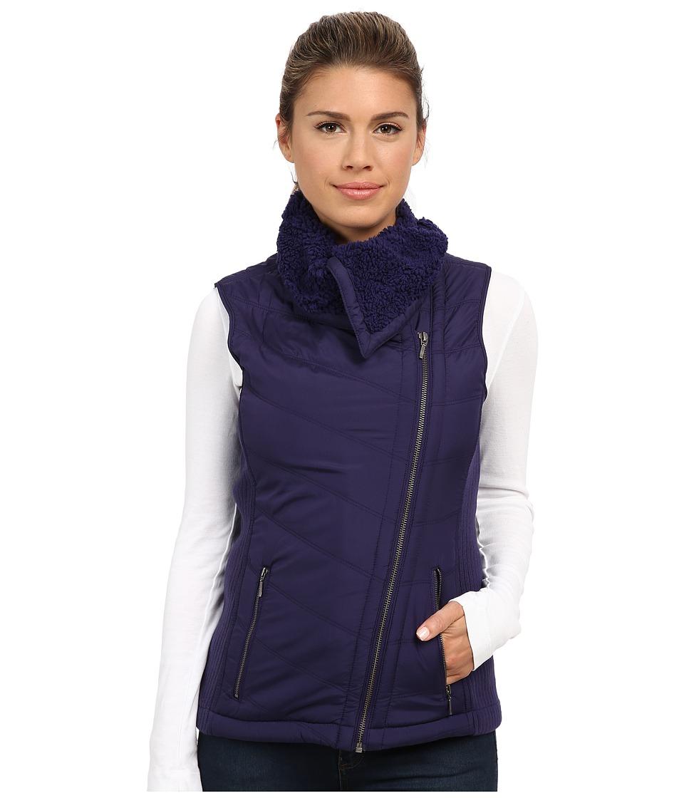 Prana - Diva Chevron Quilt Vest (Indigo) Women's Vest