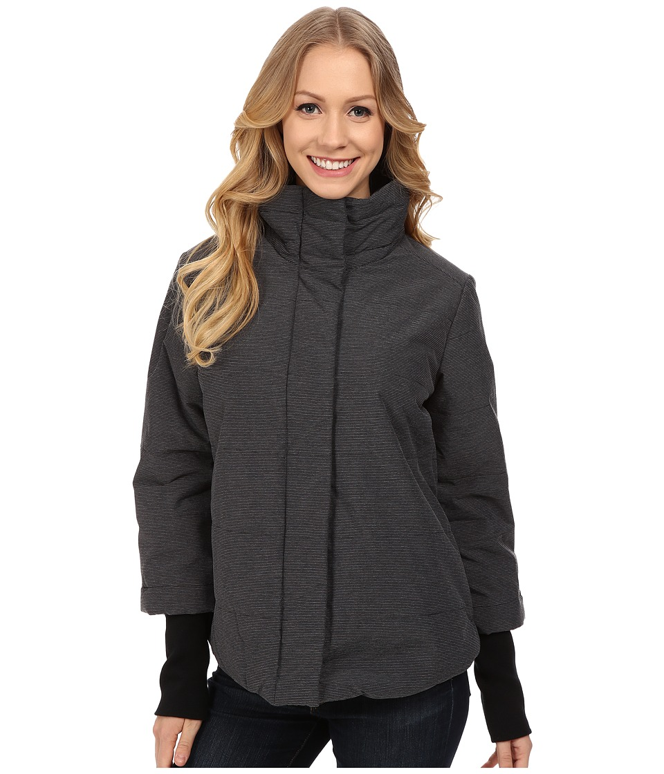 Prana - Lilly Puffer Jacket (Black) Women's Coat
