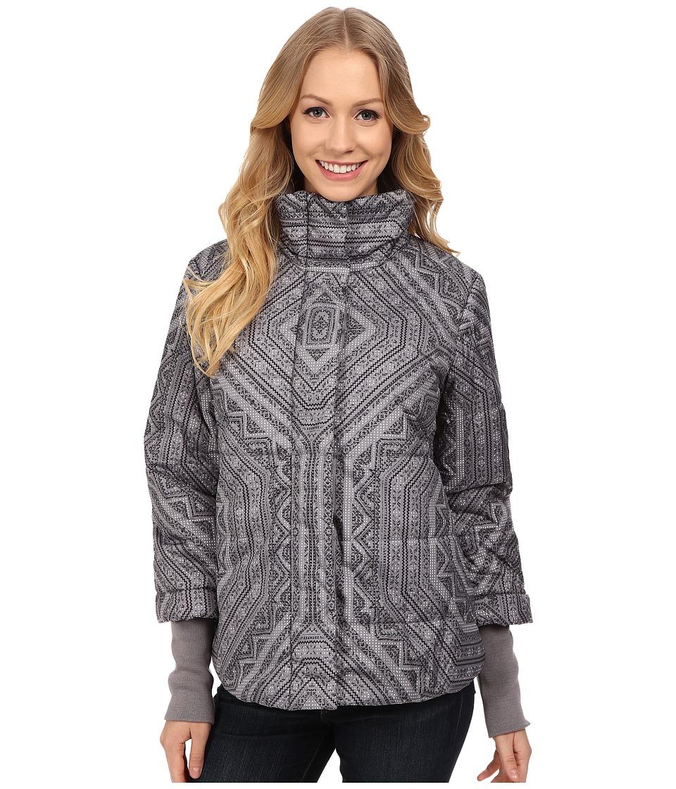 Prana - Lilly Puffer Jacket (Gull Flurry) Women's Coat