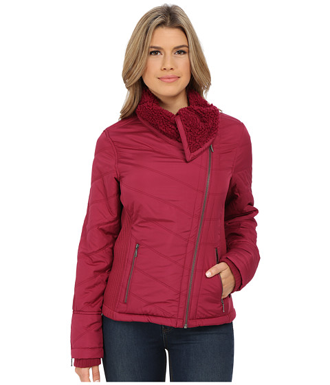 Prana - Diva Jacket (Plum Red) Women's Coat
